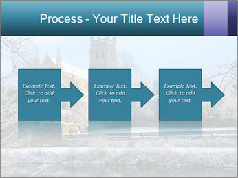 Snow covered PowerPoint Template - Slide 88