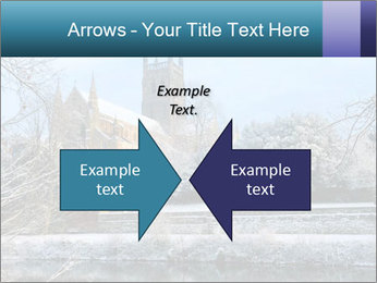 Snow covered PowerPoint Template - Slide 90