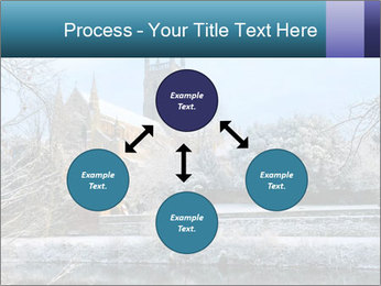 Snow covered PowerPoint Template - Slide 91