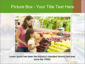 Beautiful young woman shopping PowerPoint Template - Slide 15