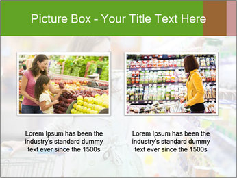 Beautiful young woman shopping PowerPoint Template - Slide 18