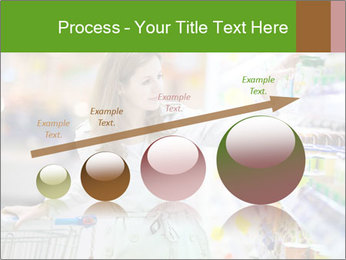 Beautiful young woman shopping PowerPoint Template - Slide 87