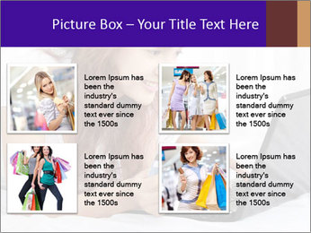 Cute online shopping PowerPoint Template - Slide 14