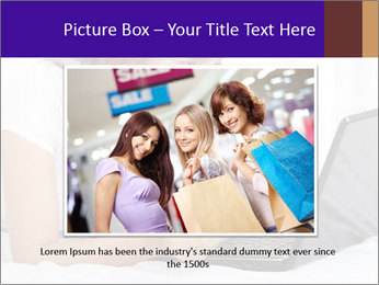 Cute online shopping PowerPoint Template - Slide 15