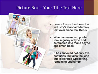 Cute online shopping PowerPoint Template - Slide 17