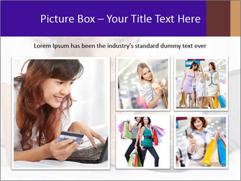 Cute online shopping PowerPoint Template - Slide 19