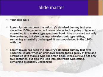 Cute online shopping PowerPoint Templates - Slide 2