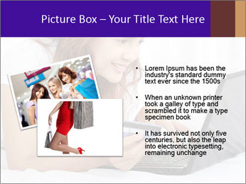 Cute online shopping PowerPoint Template - Slide 20