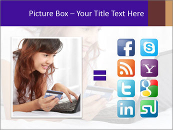 Cute online shopping PowerPoint Template - Slide 21
