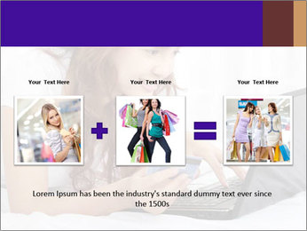 Cute online shopping PowerPoint Template - Slide 22