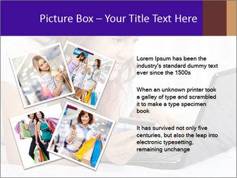 Cute online shopping PowerPoint Templates - Slide 23