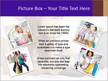 Cute online shopping PowerPoint Template - Slide 24