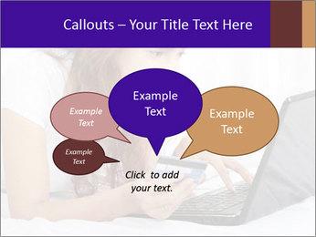 Cute online shopping PowerPoint Templates - Slide 73