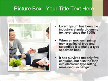 Portrait of modern couple PowerPoint Template - Slide 13