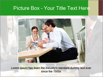 Portrait of modern couple PowerPoint Template - Slide 16