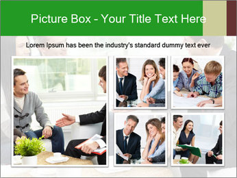 Portrait of modern couple PowerPoint Template - Slide 19