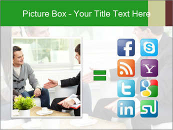 Portrait of modern couple PowerPoint Template - Slide 21