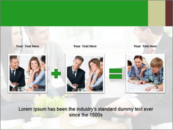 Portrait of modern couple PowerPoint Template - Slide 22