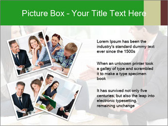 Portrait of modern couple PowerPoint Template - Slide 23