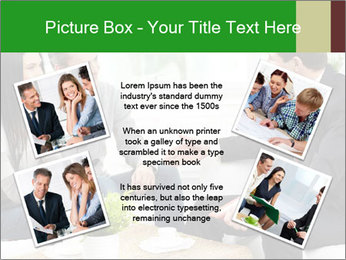 Portrait of modern couple PowerPoint Template - Slide 24