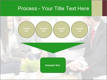 Portrait of modern couple PowerPoint Template - Slide 93