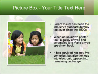 Picture of young girls PowerPoint Templates - Slide 13
