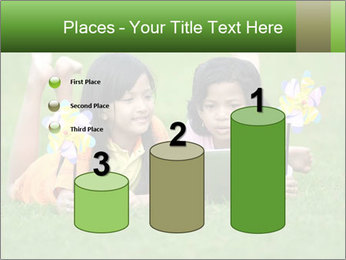 Picture of young girls PowerPoint Templates - Slide 65