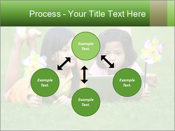 Picture of young girls PowerPoint Templates - Slide 91