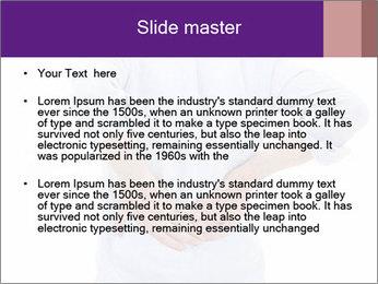 Portrait of a man PowerPoint Templates - Slide 2