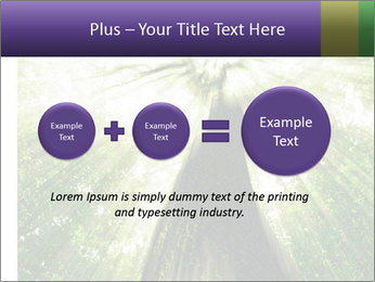 Forest trees PowerPoint Template - Slide 75