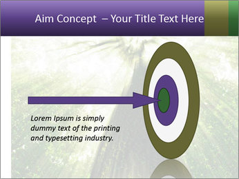 Forest trees PowerPoint Template - Slide 83