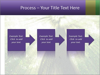Forest trees PowerPoint Template - Slide 88