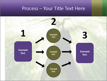 Forest trees PowerPoint Template - Slide 92
