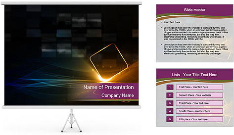 Technological PowerPoint Template