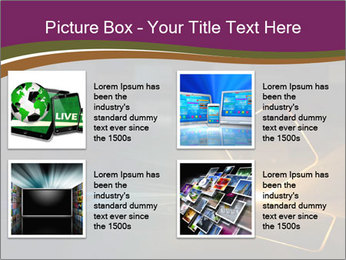 Technological PowerPoint Template - Slide 14