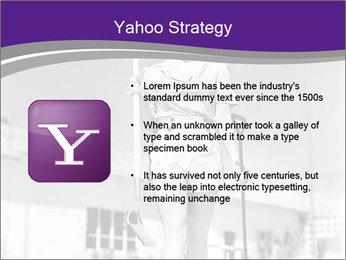 Woman walking PowerPoint Templates - Slide 11