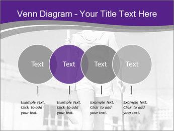Woman walking PowerPoint Templates - Slide 32