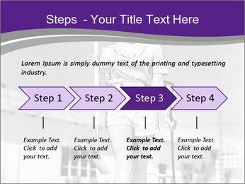 Woman walking PowerPoint Templates - Slide 4