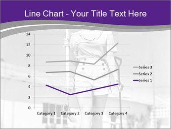 Woman walking PowerPoint Templates - Slide 54