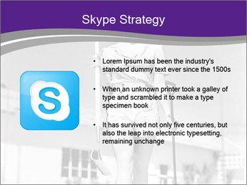 Woman walking PowerPoint Templates - Slide 8