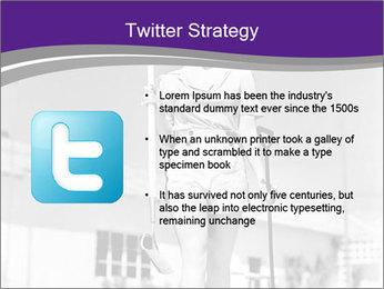 Woman walking PowerPoint Templates - Slide 9