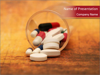 Pills PowerPoint Templates - Slide 1