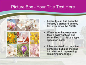 Houses with beautiful lawns PowerPoint Templates - Slide 13