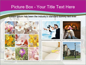 Houses with beautiful lawns PowerPoint Templates - Slide 19