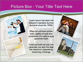 Houses with beautiful lawns PowerPoint Templates - Slide 24