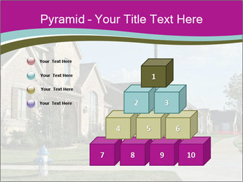 Houses with beautiful lawns PowerPoint Templates - Slide 31
