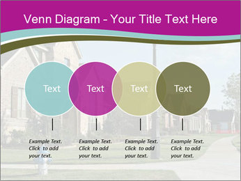 Houses with beautiful lawns PowerPoint Templates - Slide 32