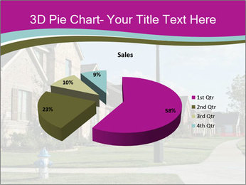Houses with beautiful lawns PowerPoint Templates - Slide 35