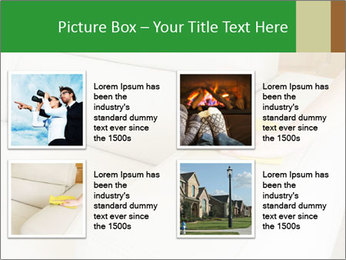 Cleaning the white couch PowerPoint Templates - Slide 14