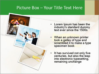 Cleaning the white couch PowerPoint Template - Slide 17